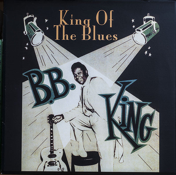"B.B. King ""King Of The Blues"" LP BB King"