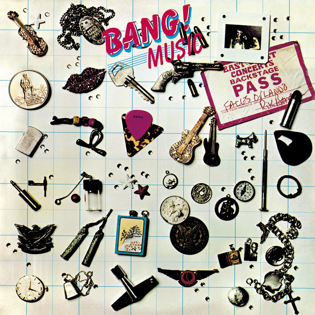 "Bang ""Music + Lost Singles"" Gatefold LP + 7"""