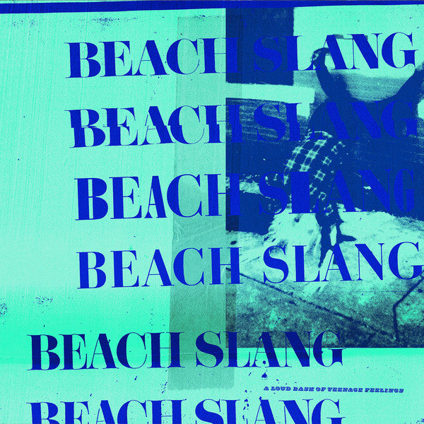 "Beach Slang ""A Loud Bash Of Teenage Feelings"" LP Blue/White Starburst Vinyl"