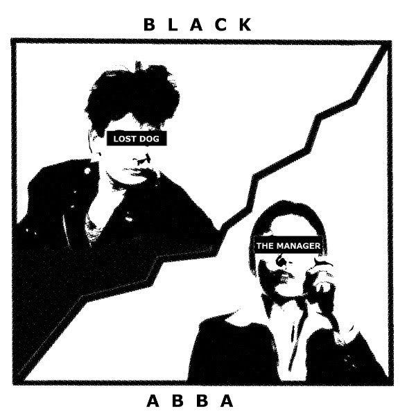"Black Abba ""Lost Dog"" 7"""