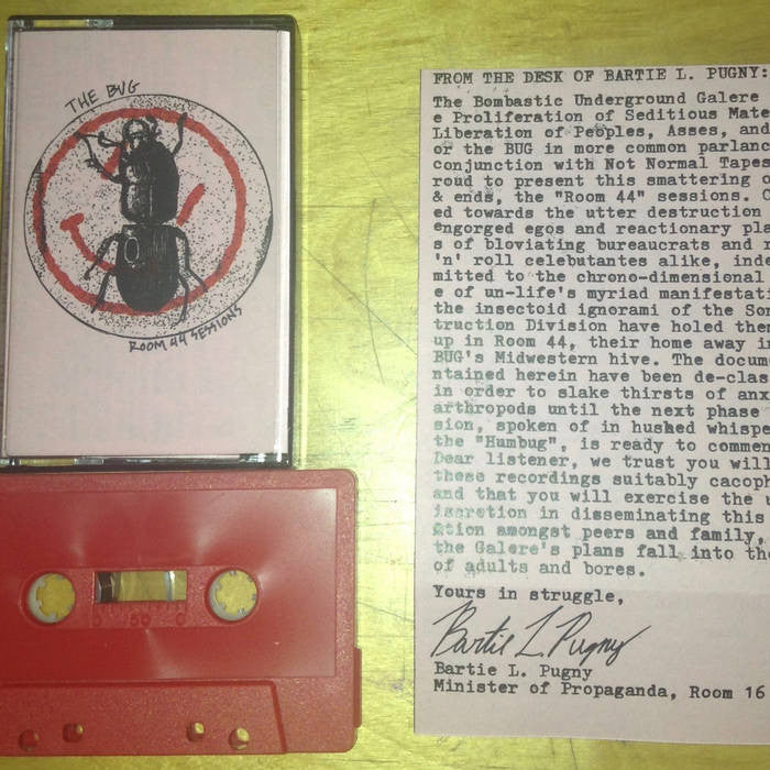 "Bug ""Room 44 Sessions"" Cassette"