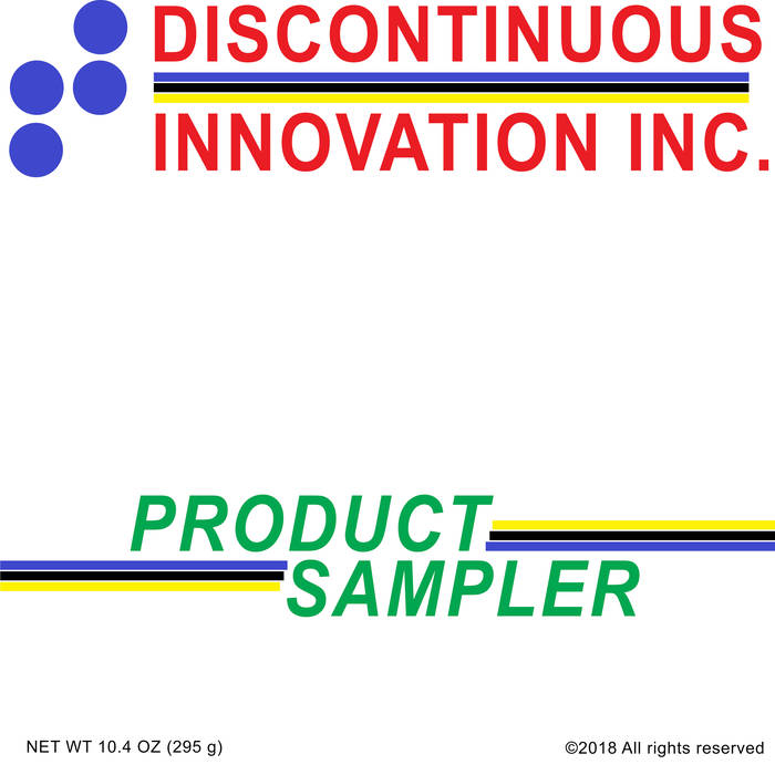 "V/A ""Discontinuous Innovation Inc. Product Sampler"" LP"