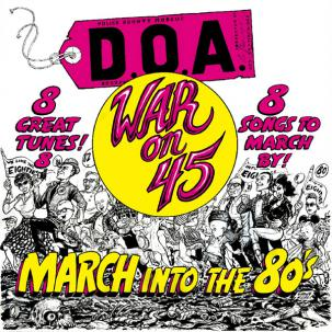 "DOA ""War On 45"" LP"