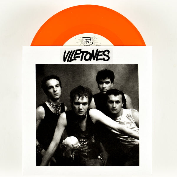 "Viletones ""1977 Demoes EP"" 7"" ORANGE VINYL"