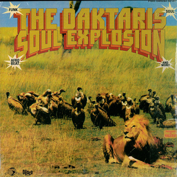 "Daktaris, The ""Soul Explosion""  LP"