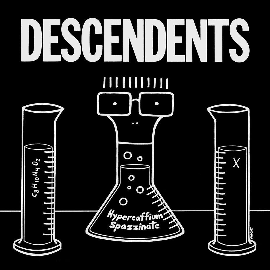 "Descendents ""Hypercaffium Spazzinate"" Ltd WHITE LP"