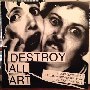 "V/A ""Destroy All Art Volume 1"" LP"