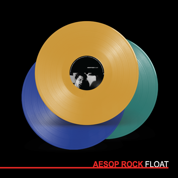"Aesop Rock ""Float"" 2xLP COLOR VINYL"