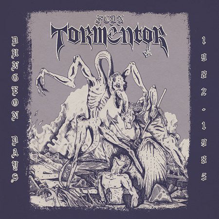 "F.C.D.N. Tormentor ""Dungeon Days 1982-1985"" Gatefold LP"