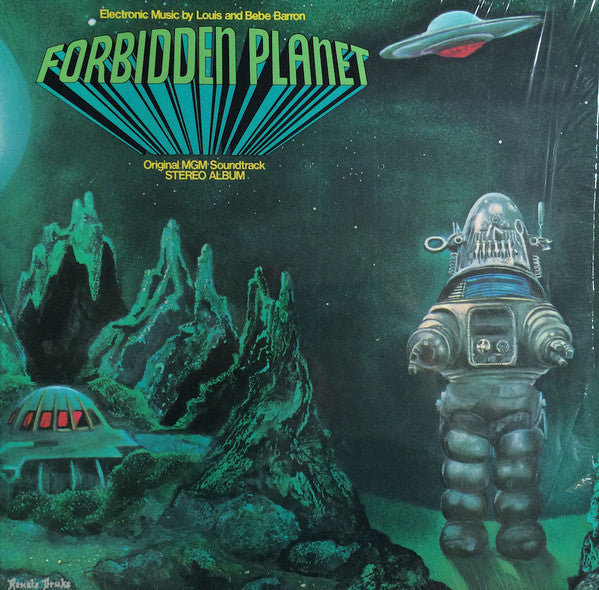 Forbidden Planet OST LP