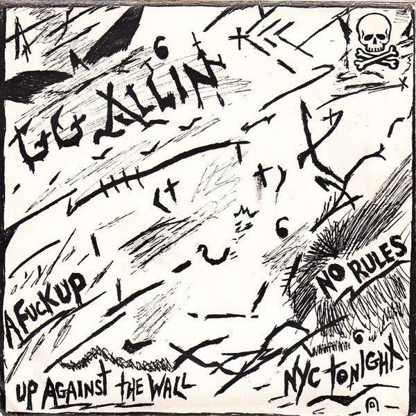 "GG Allin ""No Rules"" 7"""