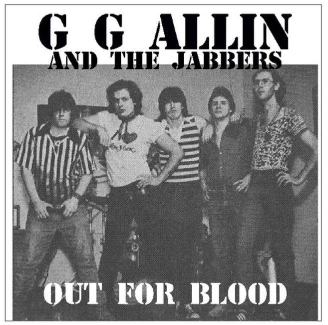 "GG Allin ""Out For Blood"" 7"""