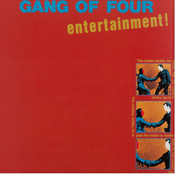"Gang Of Four ""Entertainment!"" LP"