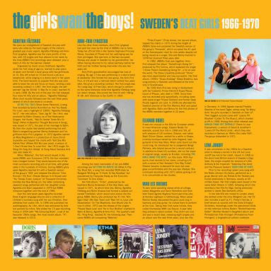 "V/A ""The Girls Want The Boys!"" LP"