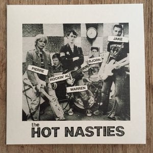 "Hot Nasties ""Ballad of the Social Blemishes"" 7"""