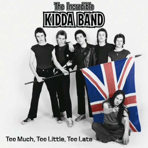"Incredible Kidda Band ""Too Much Too Little"" 2xLP"