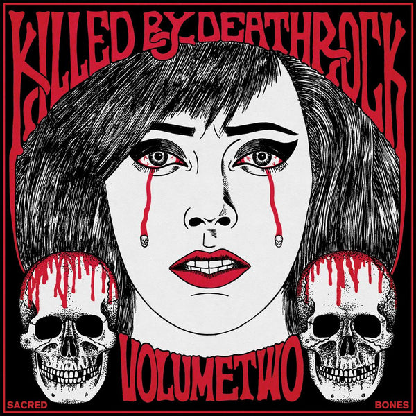 "V/A ""Killed By Deathrock Volume 2"" LP"