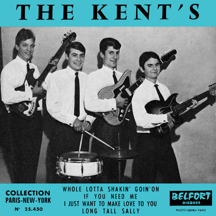 "Kent's, The ""Whole Lotta Shakin' Goin' On"" 7"""