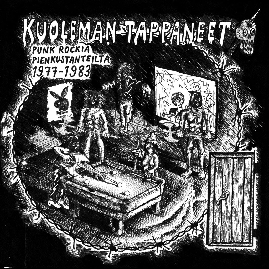 V/A Kuoleman Tappaneet / The Death Killers 1977-1983 Gatefold LP