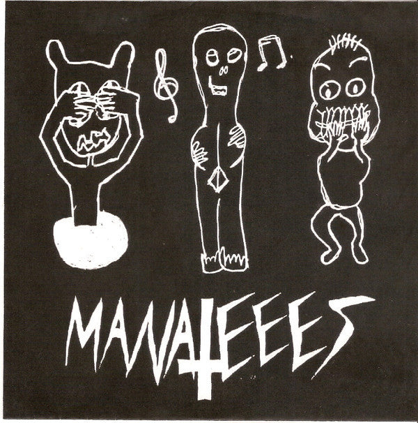 "Manateees ""Dumbesticated / Time-Killer"" 7"""