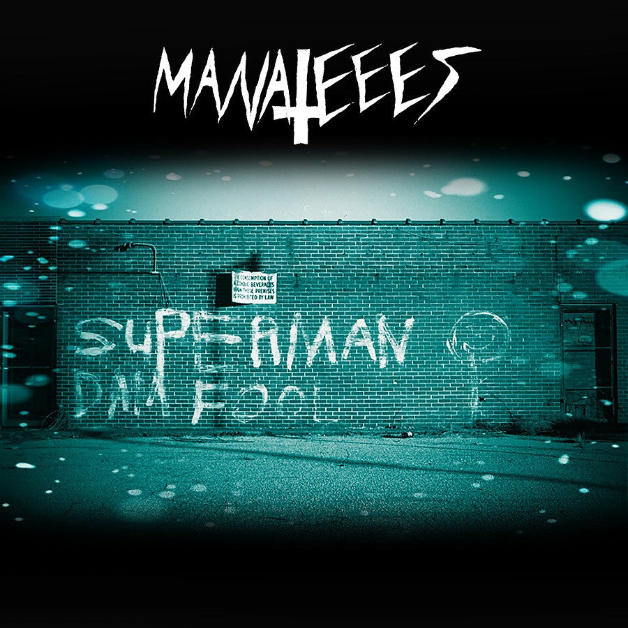 "Manateees ""Superman Dam Fool"" LP"
