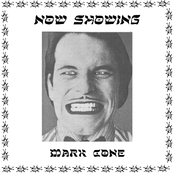 "Mark Cone ""Now Showing"" LP"