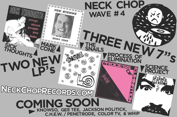 "Neck Chop Round 4 Bundle: 2x LPs & 3x 7""s"