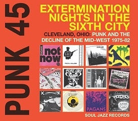 V/A Punk 45 Extermination Nights In The Sixth City 2xLP