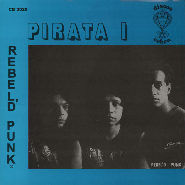 "Rebel'd Punk ""Pirata I"" LP"