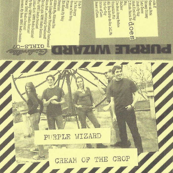 "Purple Wizard ""Cream Of The Crop"" Cassette"