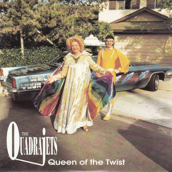 "Quadrajets ""Queen Of The Twist"" 7"""