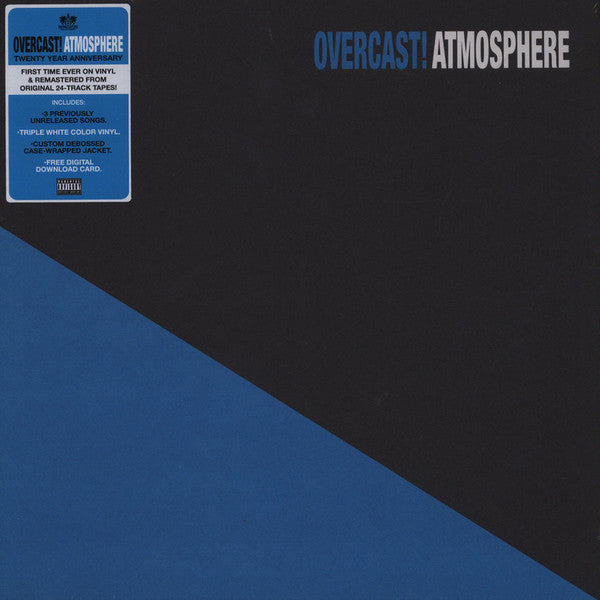 "Atmosphere ""Overcast! (20 Year Anniversary Edition)"" 3xLP"