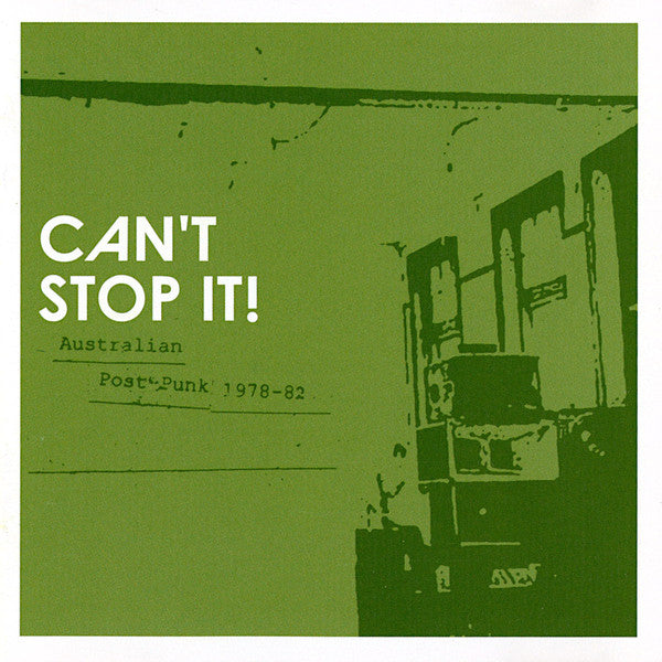 "V/A ""Can't Stop It! Australian Post Punk 1978-82"" CD"