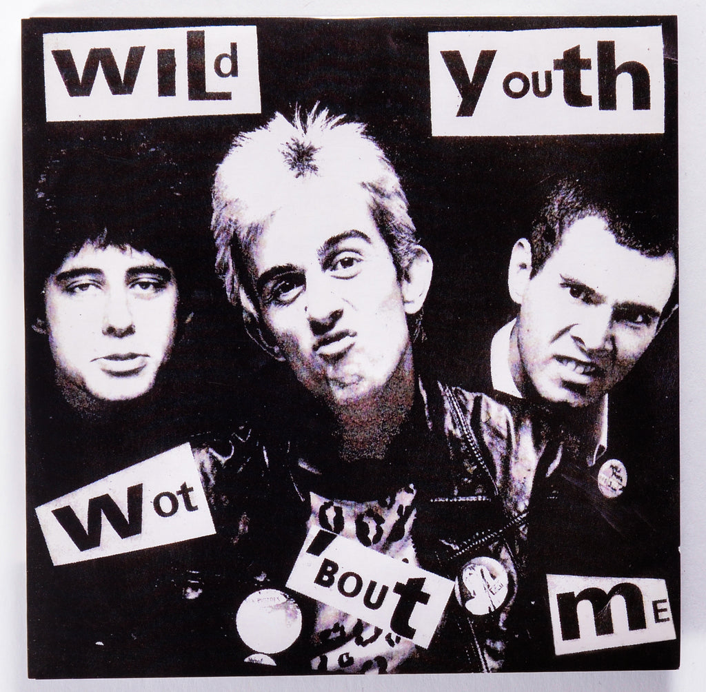 "Wild Youth ""Wot 'Bout Me / Anti You"" 7"""