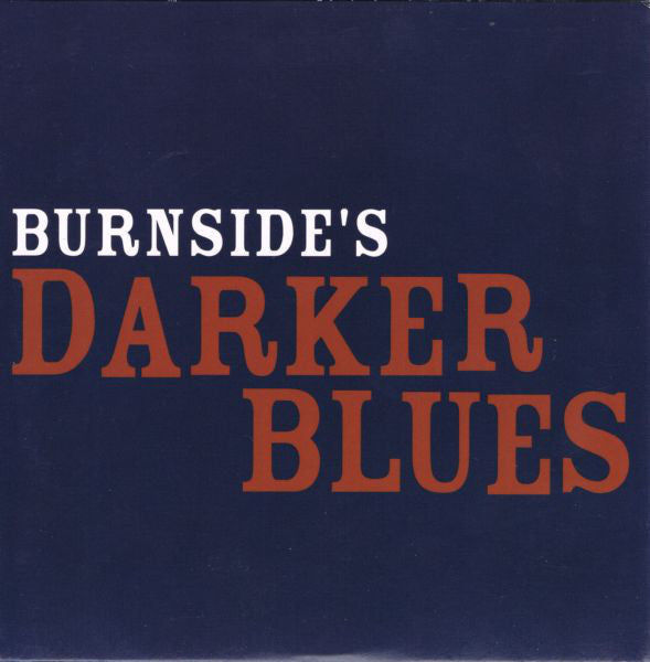 "RL Burnside ""Burnside's Darker Blues"" CD"