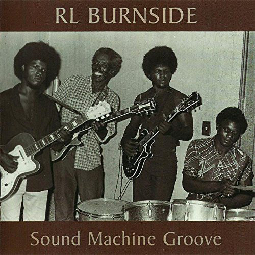 "RL Burnside ""Sound Machine Groove"" 2xLP"