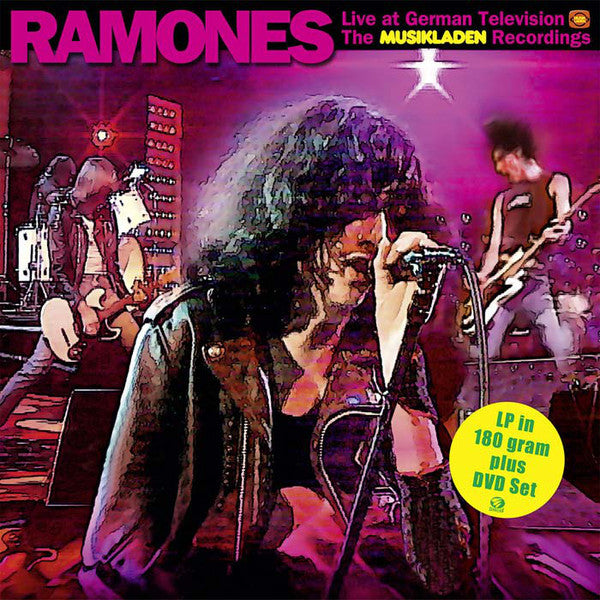 "Ramones ""Live At German Television The Musikladen Recordings"" LP + DVD"
