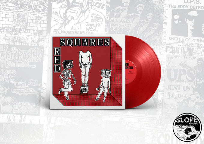 "Red Squares ""Modern Roll"" 7"""