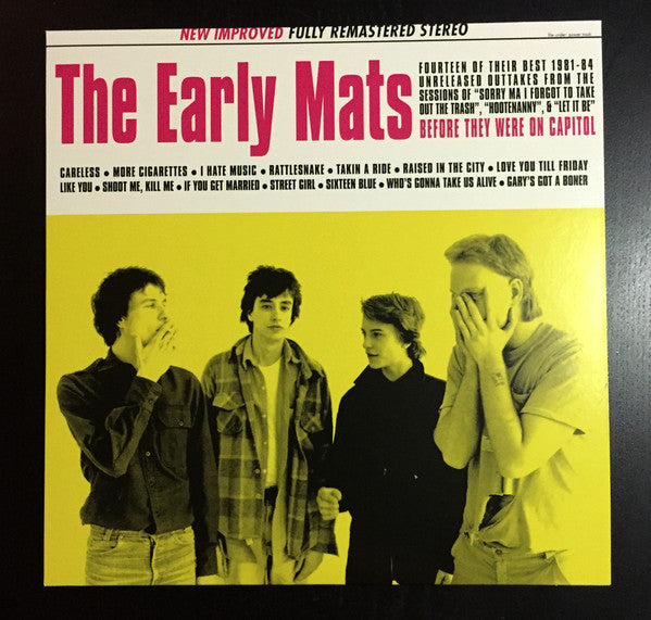 "Replacements ""The Early Mats"" LP"