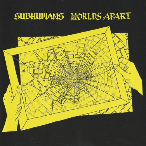 "Subhumans ""Worlds Apart"" Gatefold LP"