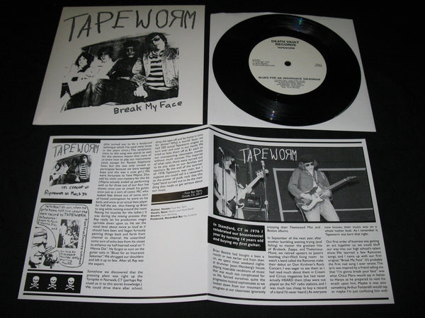 "Tapeworm ""Break My Face"" 7"""
