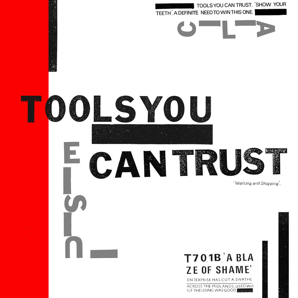 "Tools You Can Trust ""Working And Shopping"" LP"