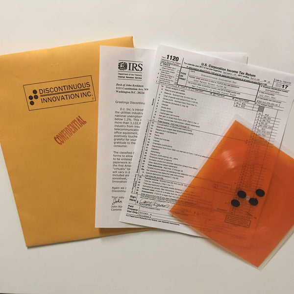 "Toyota ""Polyvinyl Chloride Sonosheet Containing Classified Data"" 7"" Flexi"