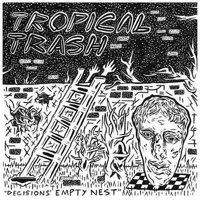 "Tropical Trash ""Decisions Empty Nest"" 7"""