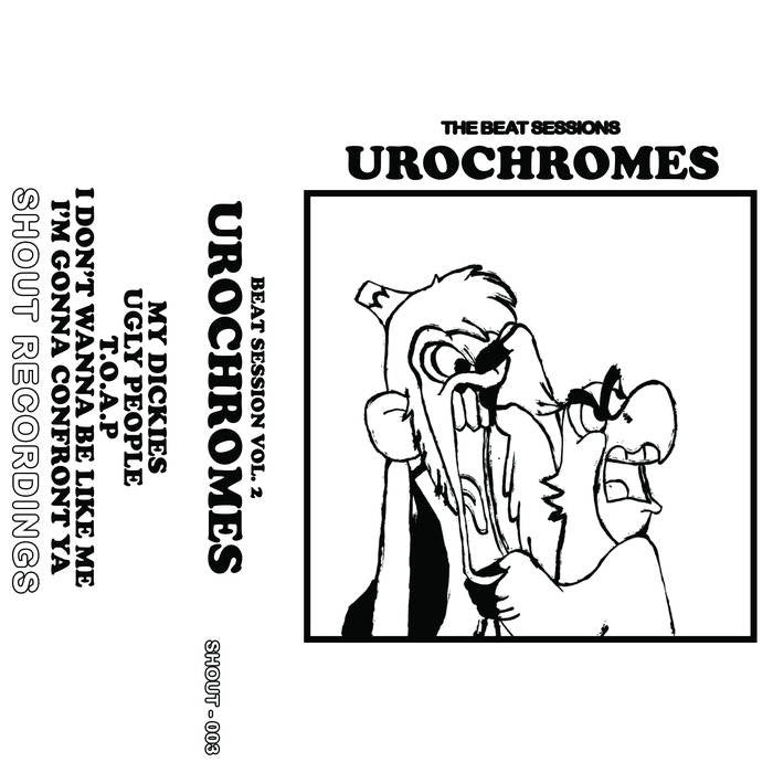 "Urochromes ""The Beat Sessions"" Cassette"