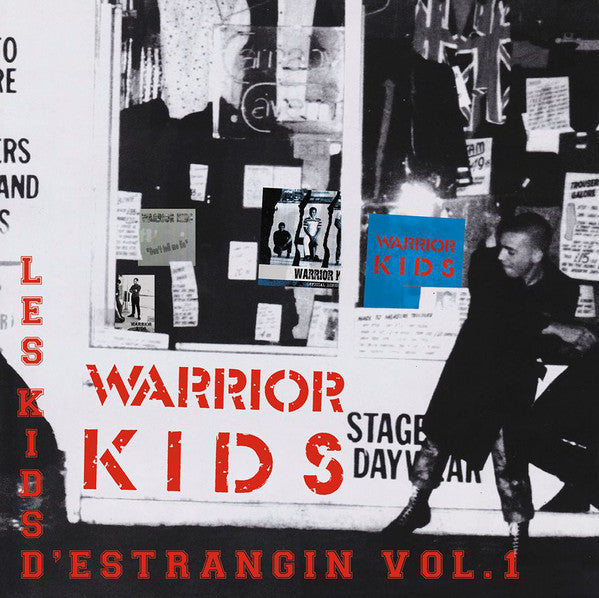 "Warrior Kids ‎""Les Kids D'Estrangin Vol. 1"" 2xLP"