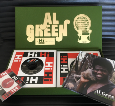 "Al Green ""The Hi Records Singles Collection Box Set"" 7"" BOX"