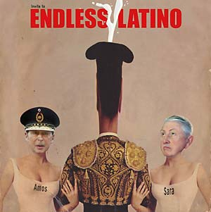 "Amos & Sara ""Invite To Endless Latino"" LP"
