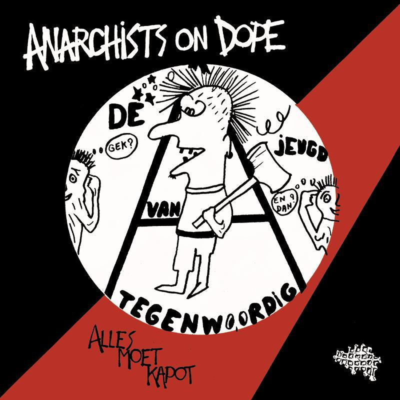"Anarchists On Dope (A.O.D.) ""S/T"" LP"