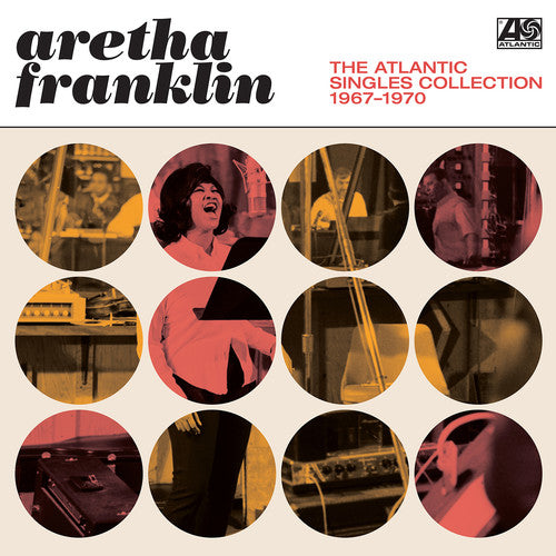 "Aretha Franklin ""Atlantic Singles Collection 1967-1970"" 2xLP"